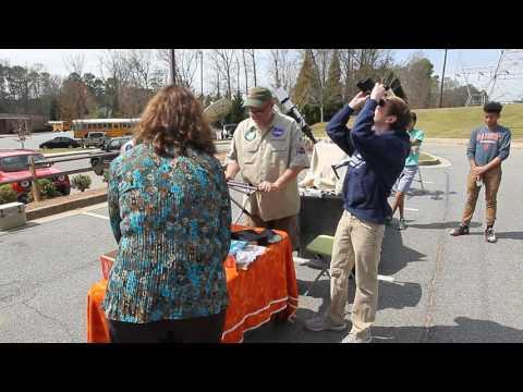 Dodgen Middle School Receives Celestron Equipment through CBSAP March 20 2017