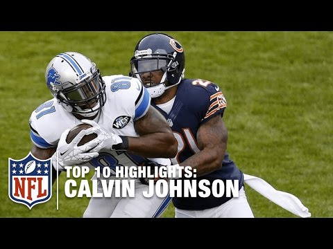 Top 10 Calvin Johnson Career Highlights | NFL