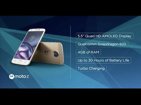 Presentación Oficial Motorola Moto Z - ¿El mejor smartphone gama alta de 2016?