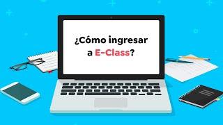 E-Class School - Cómo ingresar a la plataforma 💻📚 screenshot 1