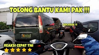Download lagu REAKSI CEPAT TNI BANTU AMBULANCE | ESCORTING AN AMBULANCE #26