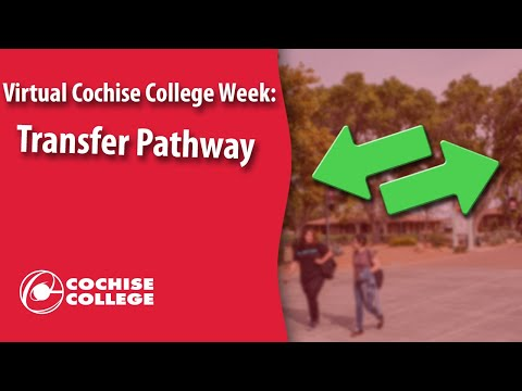 Transfer Pathway at Cochise College