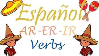 spanish ar er ir verbs