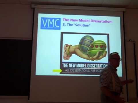 The New Model Dissertation: Preparing Art & design Students for a Digital Age