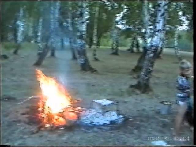 Григорьев П.И. в лесу