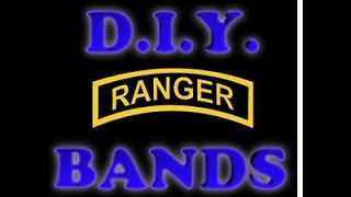 Ranger Bands Instructables