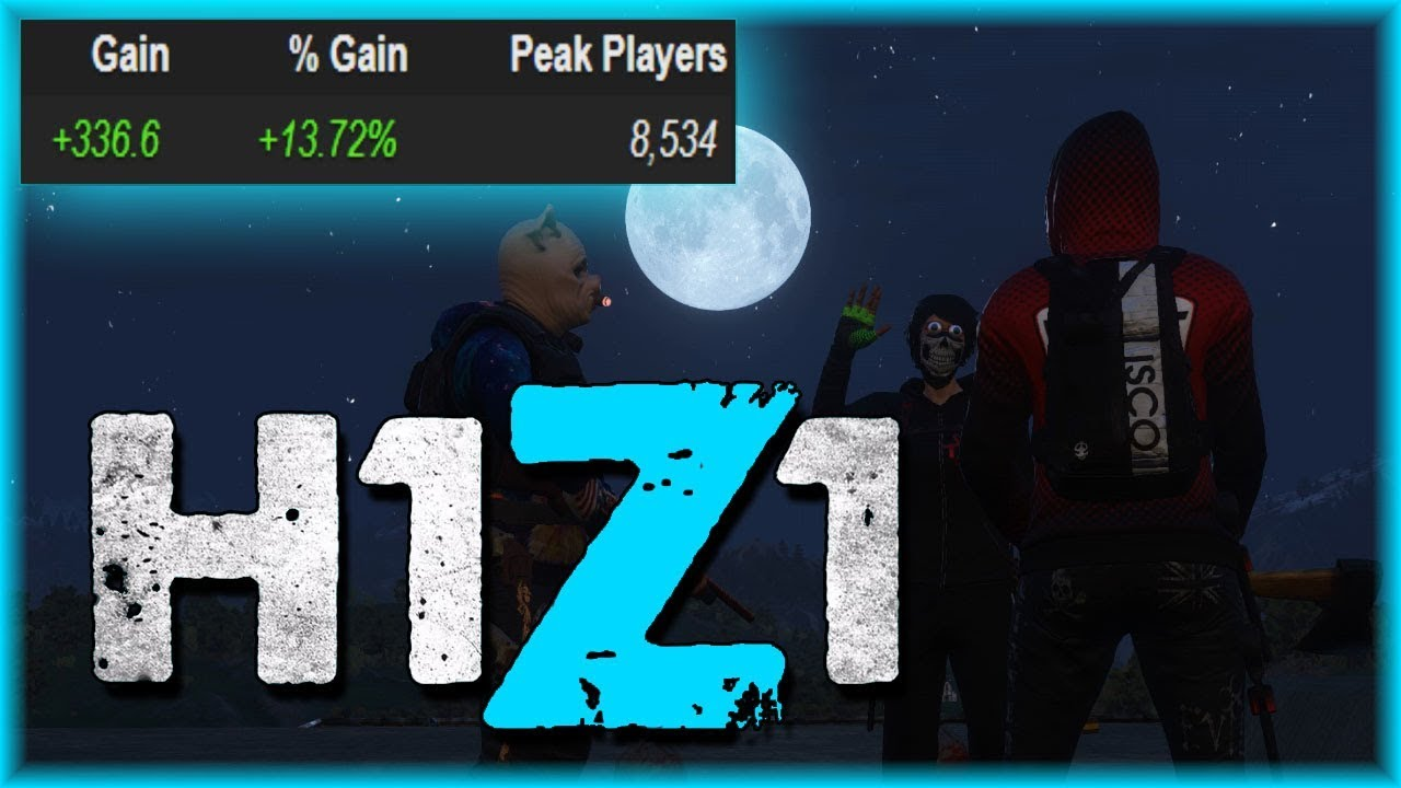 H1z1 Botting Steam Charts Weird Influx Of Players To Recently
