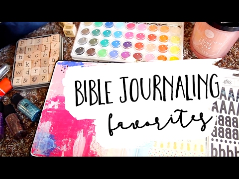 bible journaling favorites | our homeschool journey...