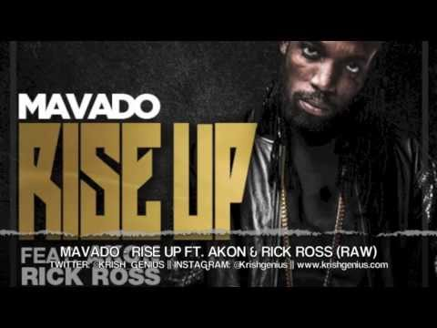 Mavado - Rise Up ft. Akon & Rick Ross (Raw)