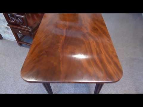 Fine 19th c mahogany side table