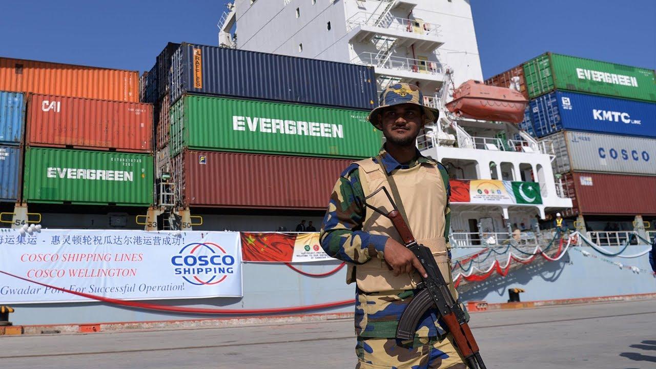Podejrzana baza Chin wPakistanie