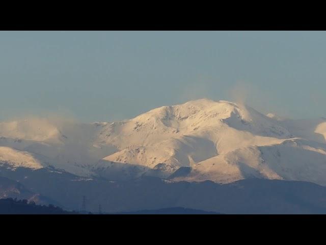 El majestuós Puigmal amb torb - Vic - Desembre 2020