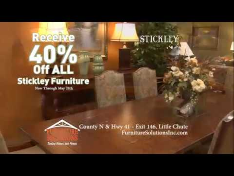 Stickley May At Furniture Solutions