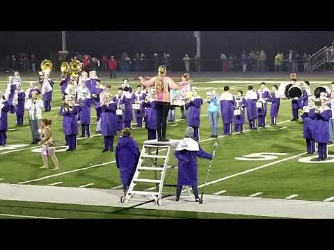 Triway High School Marching Band 10-26-2018