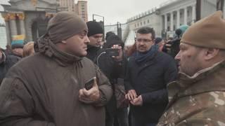 Виховна розмова Національного Корпусу з 'порохоботом' Бірюковим