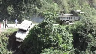 Decommissioned Indian army truck team up for a rescue.
