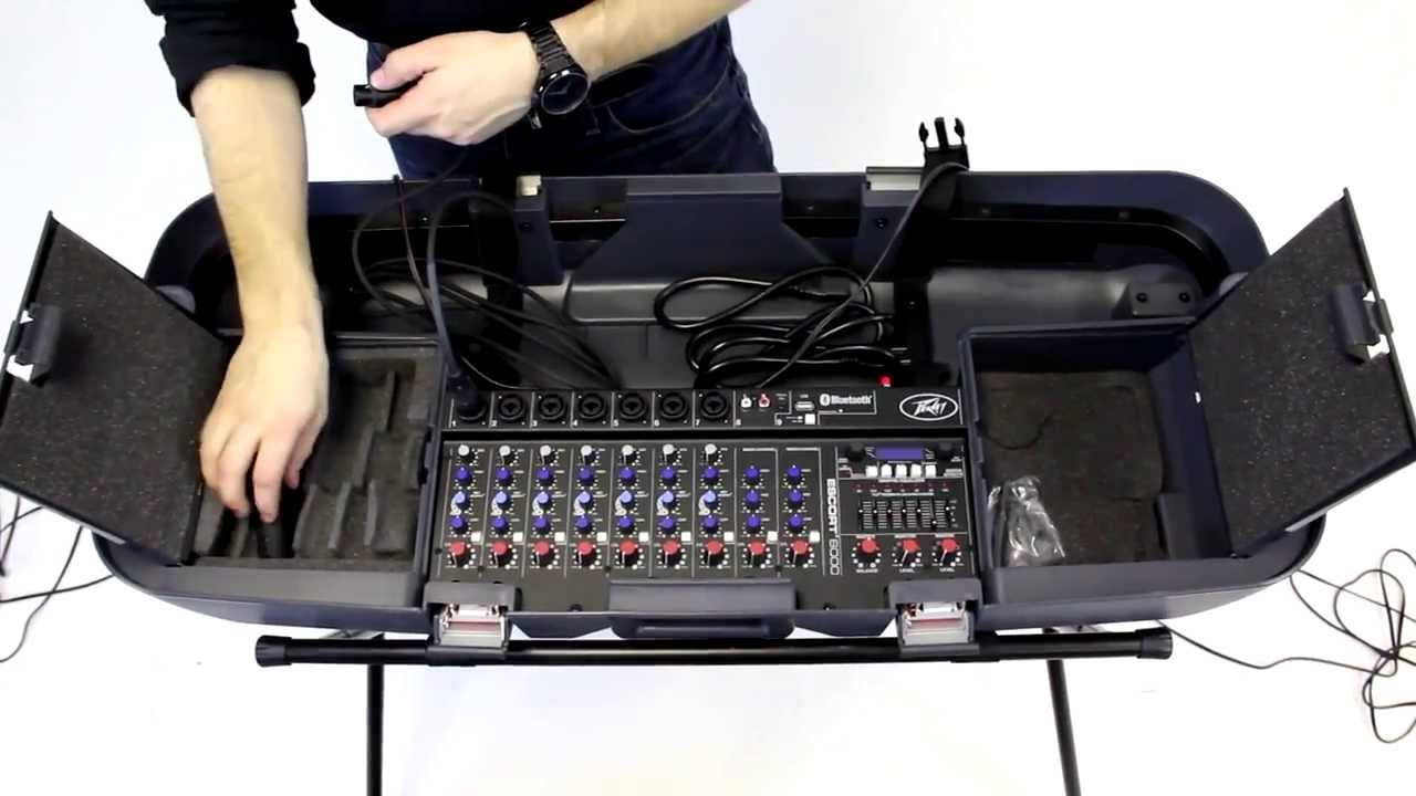 Escort Passport Max >> Peavey Escort - Portable PA System - YouTube