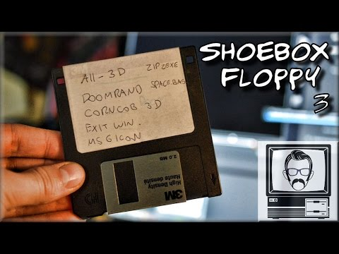 What the HELL is on my Disk #3 - Blind Floppy | Nostalgia Nerd