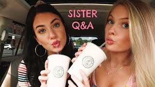 CHIPOTLE MUKBANG WITH MY SISTER