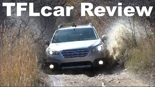 2015 Subaru Outback Off-Road Review: New Subie gets muddy, dirty & scratched