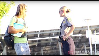 Repeat youtube video Flirting With Very Nice American Female Officer In Norwegian