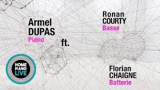 jazz trio livestream ⎮ Armel Dupas, Ronan Courty & Florian Chaigne