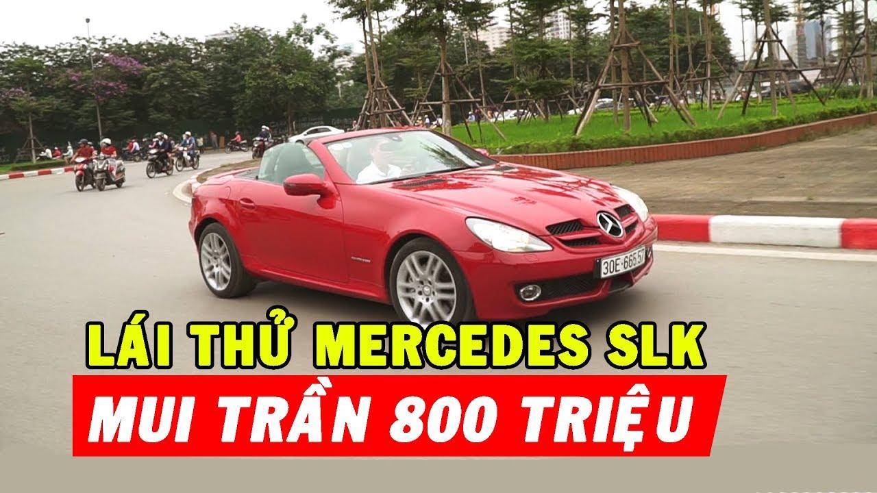 ✅ Siêu xe giá rẻ: Tầm giá Mazda3 , mui trần Mercedes SLK lướt phố, gái xinh liếc nhìn.