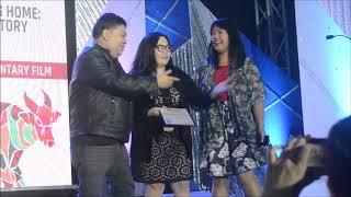 Sinag Maynila 2018: Albert Almendralejo, Maricel Cariaga accept Best Documentary Jury Prize