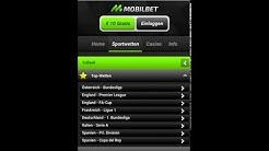 Mobilebet App - Beschreibung von mobilbet.com