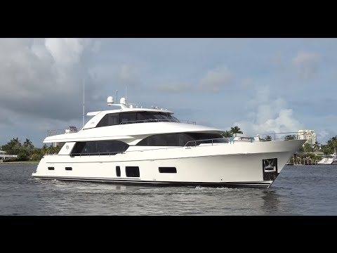 Elegance, Comfort, Space: 2017 Ocean Alexander 100 Motor Yacht For Sale at MarineMax Pier 66