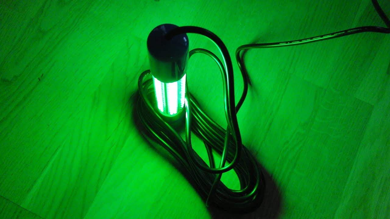 Unboxing 12V Led Fishing Light Green