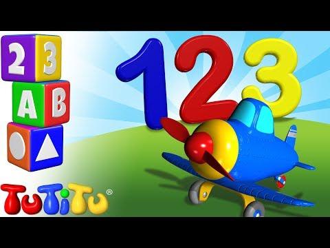 airplane---babies-and-toddlers-learning-numbers-with-tutitu-toys---tutitu-preschool