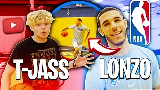 Download Lonzo Ball Tries To Do Crazy Layups! Mp3 and Videos