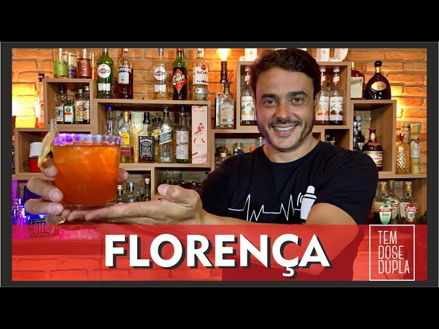 Receita de Negroni - DRINK COM APEROL - FLORENÇA