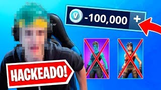 7 famous streamers that were HACKED live playing Fortnite..! (Tfeu, Ninja & more)