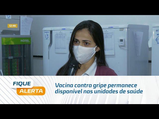 Vacina contra gripe permanece disponível nas unidades de saúde de Maceió