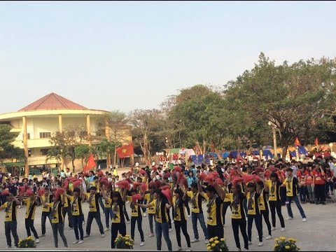 Flashmob Trại Xuân 2015 P2 - THCS Nguyễn Hiền Q12