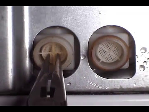 Water Valve Filters Ge Washer Youtube