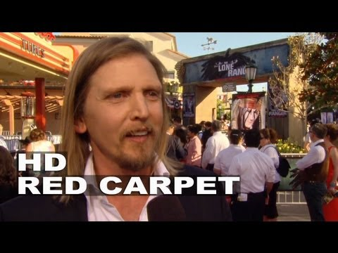 The Lone Ranger: Barry Pepper World Premiere Interview