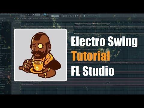 Tutorial - How to make an Electro Swing song 2 - FL Studio Template like Funky Panda (FLP)
