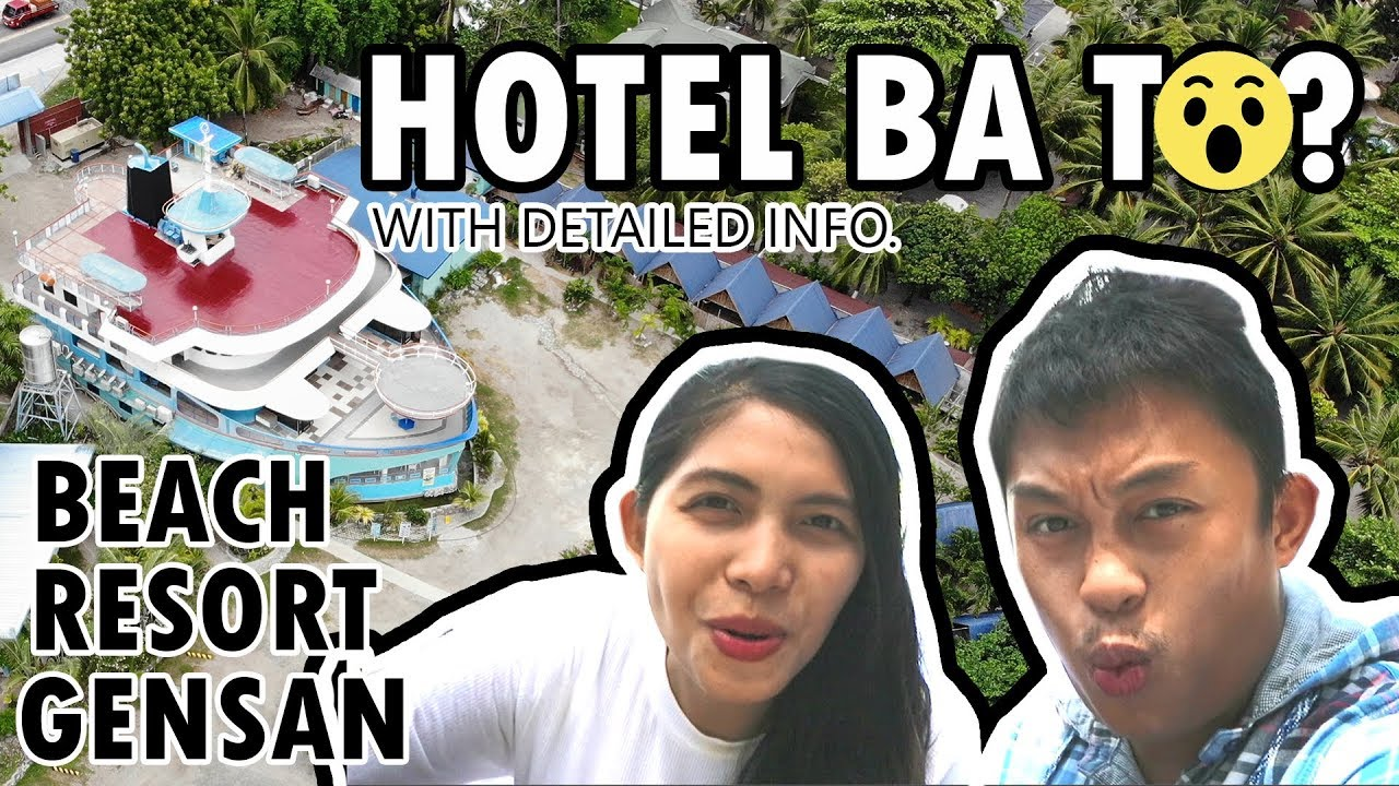 HOTEL that looks like a BOAT! Vergene Blue Paradise Resort ...