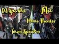Electronics Items | म्यूजिक सिस्टम  | Home Theaters  and Speakers Lajpat Rai Market Delhi