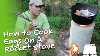 How To Boil Eggs On A DIY Rocket Stove