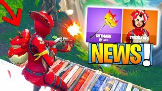 "NOVAS SKINS ""TRICERA-TOP 1 e MCHOUILLEUSE"" no FORTNITE!"