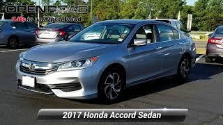 Certified 2017 Honda Accord Sedan LX, Edison, NJ 11019P