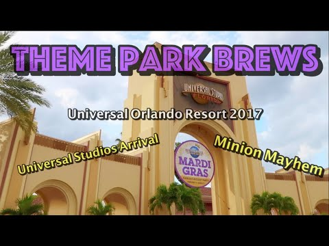Universal Orlando Resort Vlog - Universal Studios Arrival And Minion Mayhem