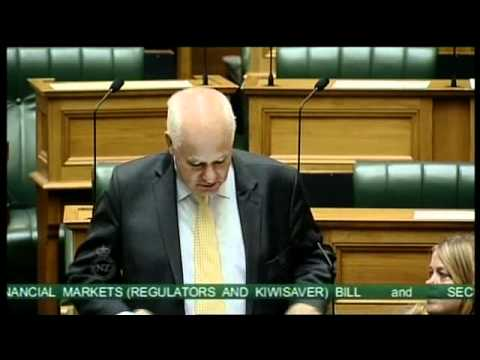 Financial Markets Bill and Securities Trustees and Supervisors Bill - Second Reading - Part 7