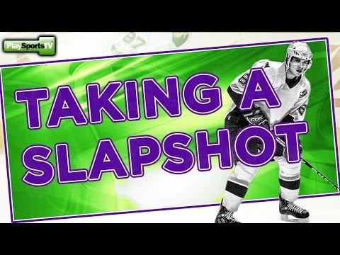 Hockey Shot: Taking A Slapshot