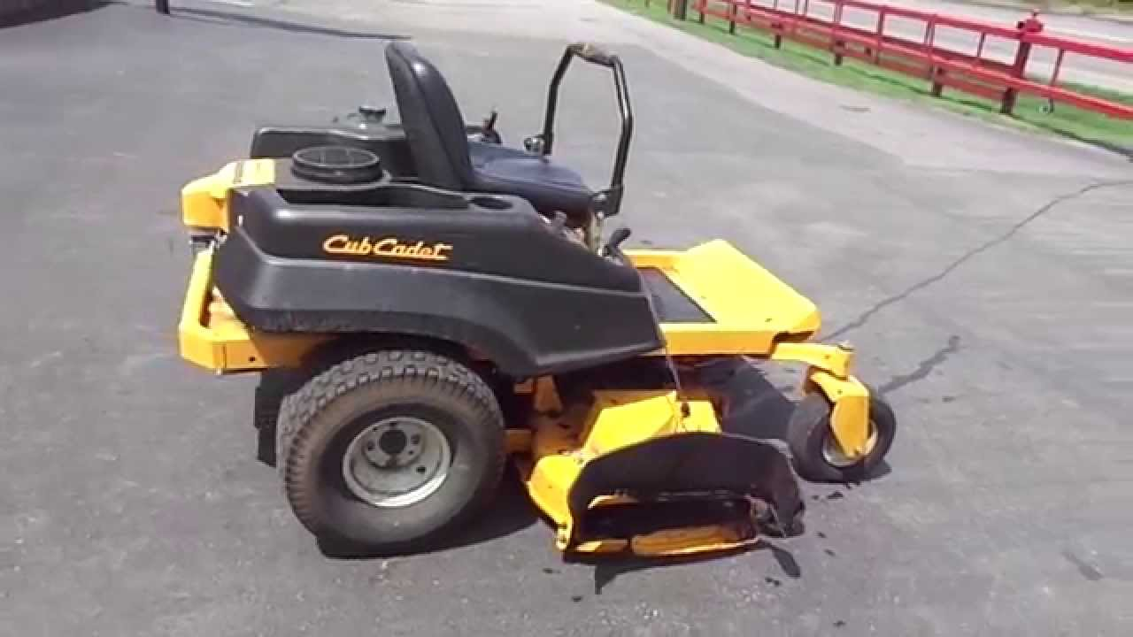 54 Quot Cub Cadet Rzt Zero Turn Lawn Mower 24 Hp Kawasaki