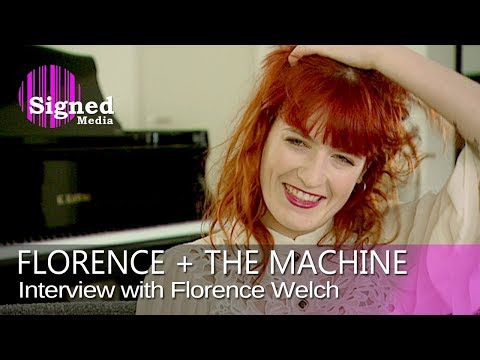 Florence Welch - Interview for German Television, 2010 (full length)